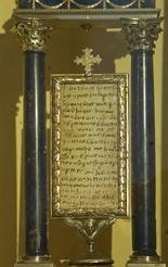 Lettera autografa di San Francesco