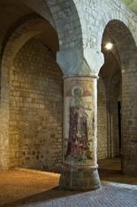 Basilica di Sant'Eufemia - Particolare della colonna