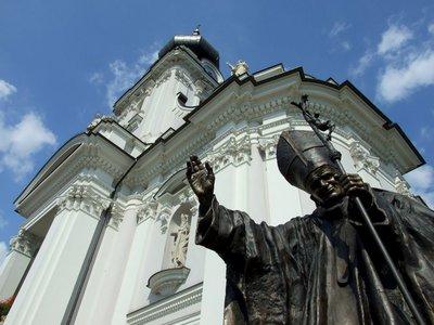 logo pellegrinaggio polonia